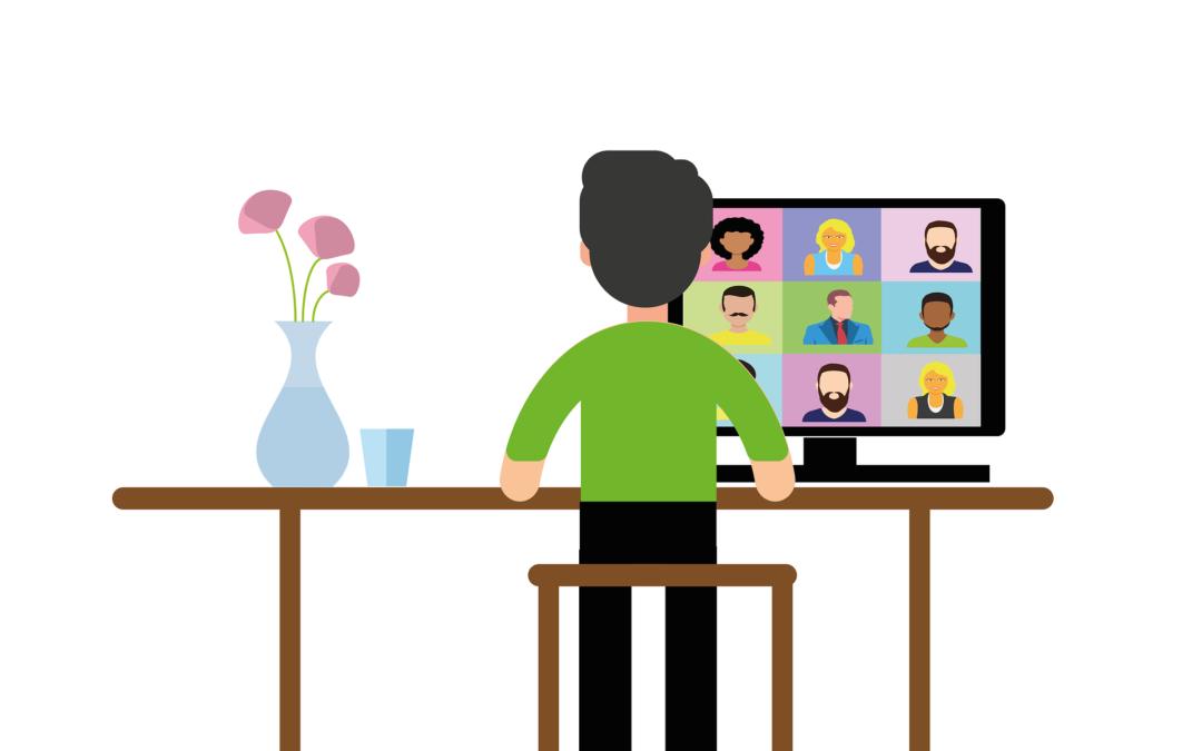 Organiser une réunion à distance : créer un lien de qualité avec vos collaborateurs en visioconférence